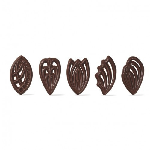 PEINETA CHOCOLATE C/310 UND. 45 X 25 MM