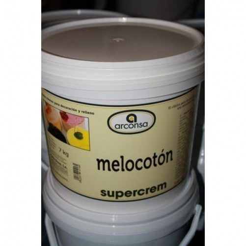SUPERCREM MELOCOTON C/7 KG.