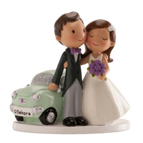 BODA COCHE JUST MARRIED 12 CM