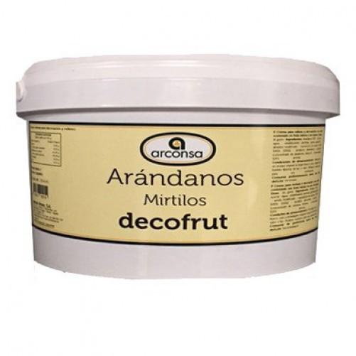 DECOFRUT ARANDANOS C/3 KG.